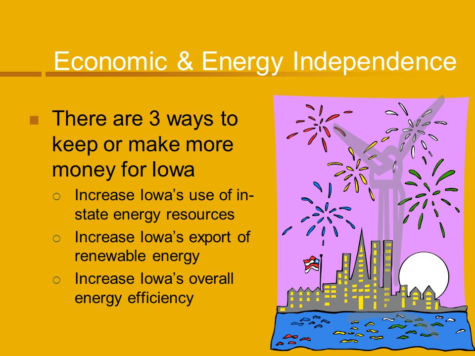 POET: Project LIBERTY Project LIBERTY in Emmetsburg, Iowa will be one of the worlds first commercial scale cellulosic bio-refineries Convert corn cobs to ethanol through enzymatic hydrolysis Corn cobs are easy to harvest, have limited environmental impact and have high carbohydrate content that makes more ethanol Will help to meet the vision of producing 36 billion gallons of ethanol a year