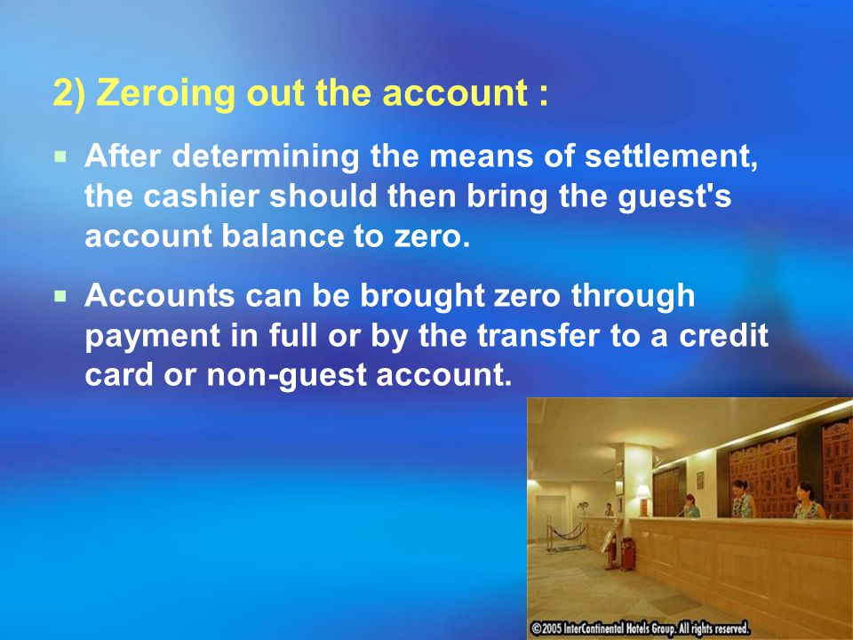 Then, the Front Desk notifies the Housekeeping Department of the guest's departure. A guest approaching the Front Desk should be greeted promptly and