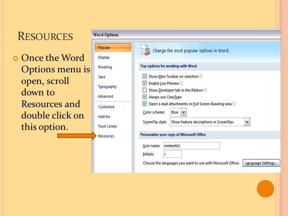 D IAGNOSE From the Resources tab, you are able to access the MicrosoftDiagnostics