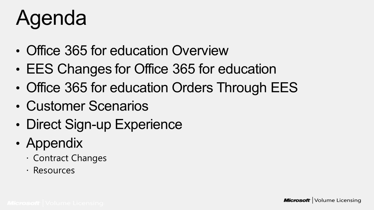 ©2010 Microsoft Corporation Legal | Privacy Community | Feedback Colin Wilcox settings | sign out Admin 25 User licenses Review your order Microsoft Office 365 for Education (Plan A) | 1 year term Edit | Remove Check out 1.