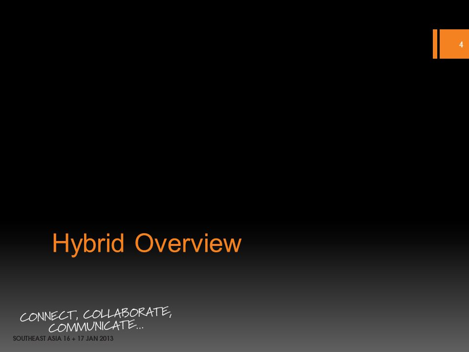 Hybrid Overview 4