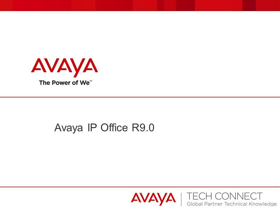 Avaya IP Office R9.0