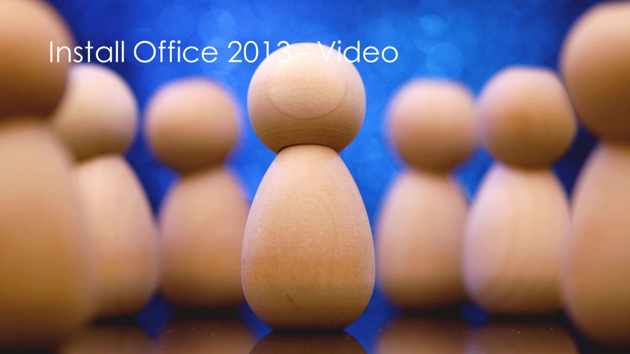 Install Office Video