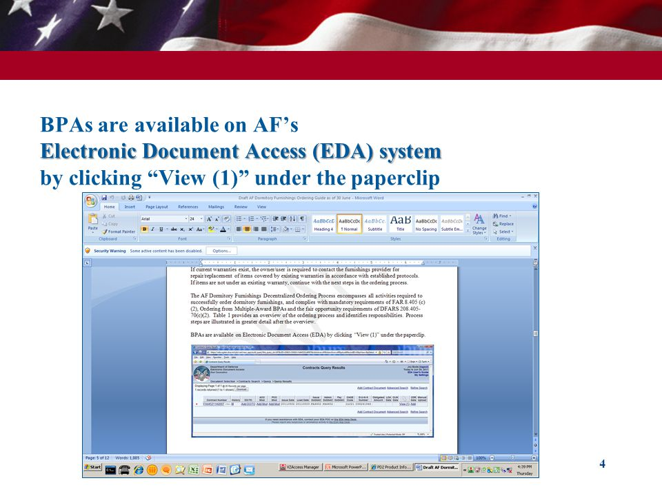 GSA eBuy – RFQ Detail 45 You can view quotes at any time.