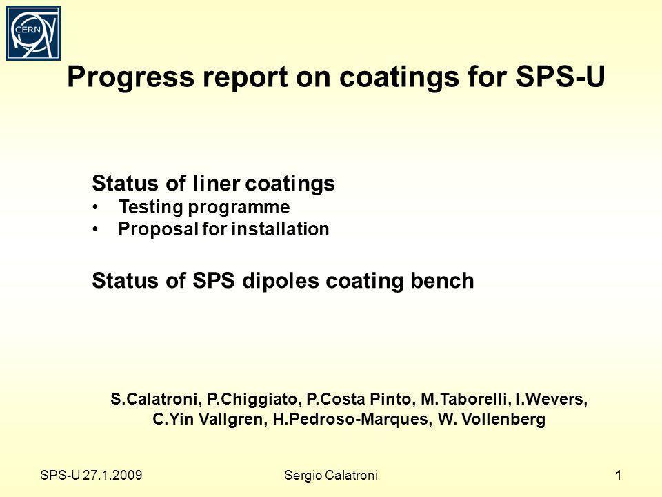MBB coating bench in bldg. 867 SPS-U 27.1.200912Sergio Calatroni