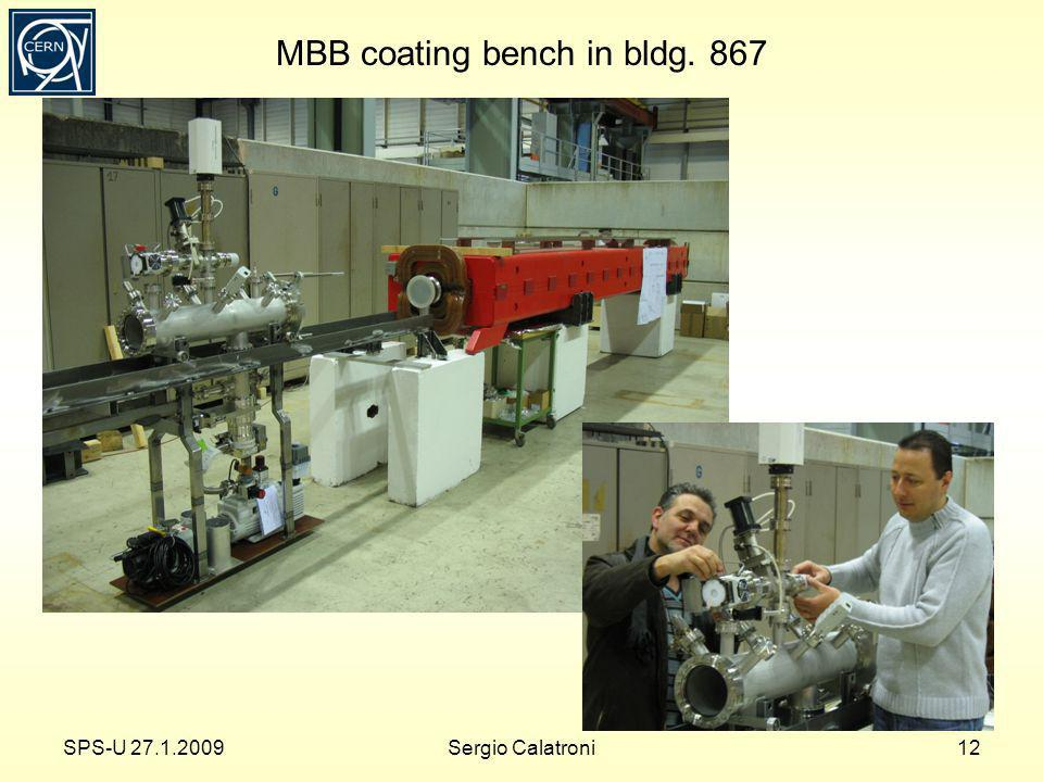 MBB coating bench in bldg. 867 SPS-U 27.1.200912Sergio Calatroni