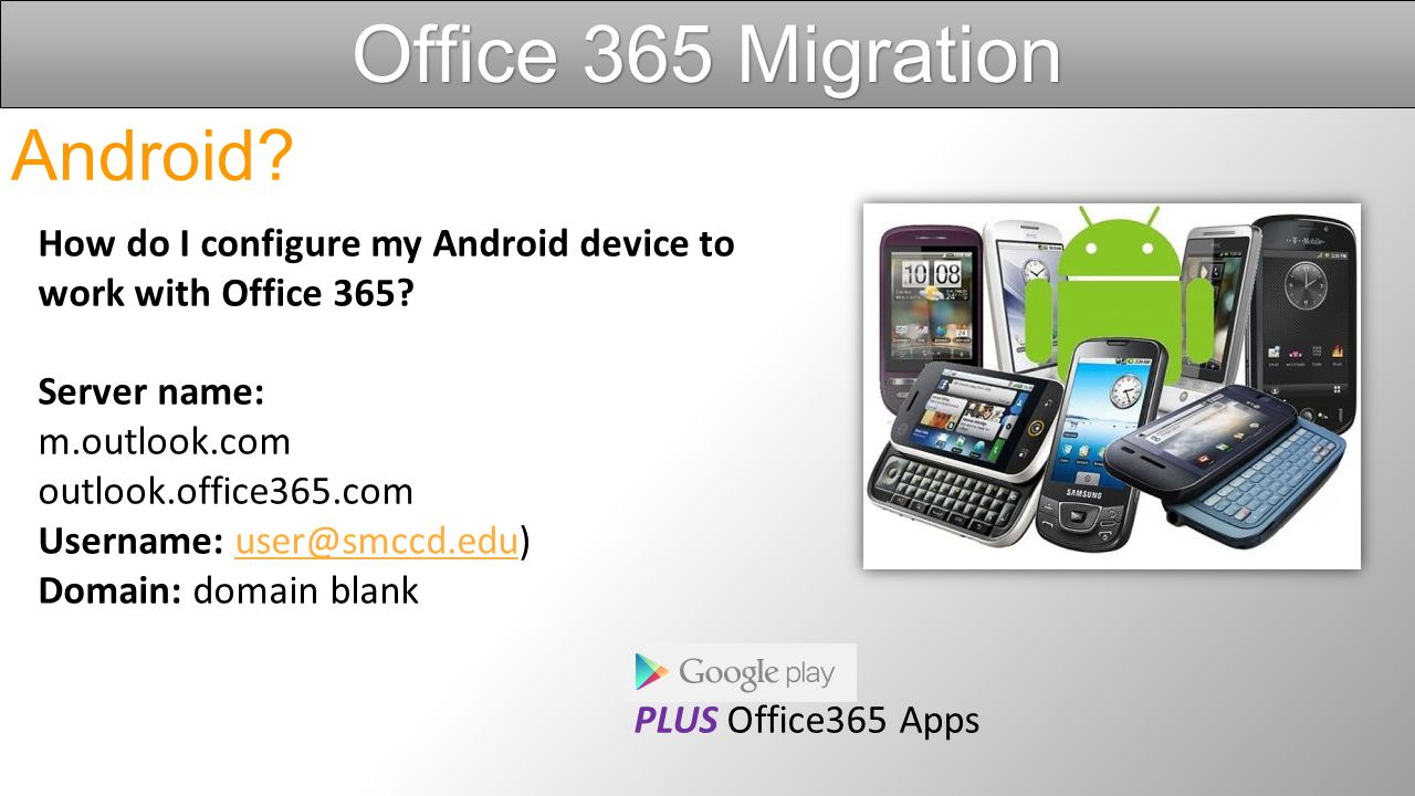 How do I configure my iOS device (iPad, iPhone) to work with Office 365.