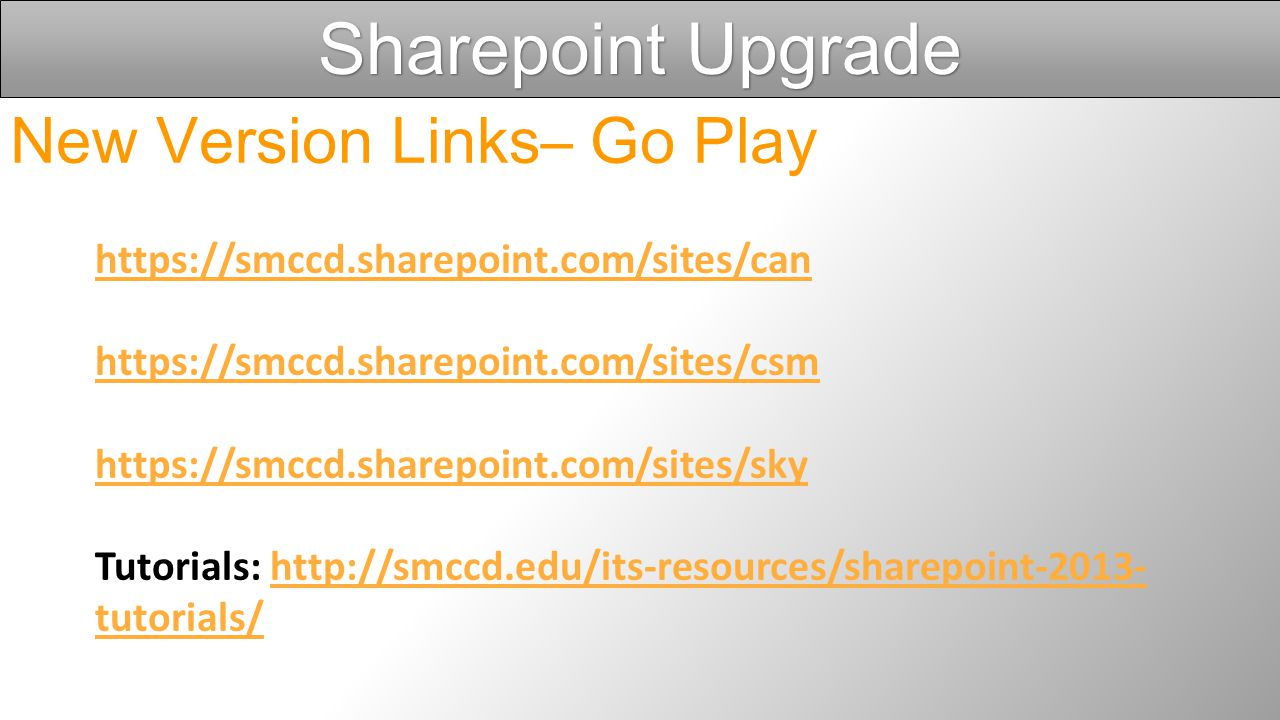 Sharepoint Upgrade Migration Working with Microsoft Partner Total Sites Being Migrated: 538 Bringing Over Files, Structure & Permissions All Sites Mig