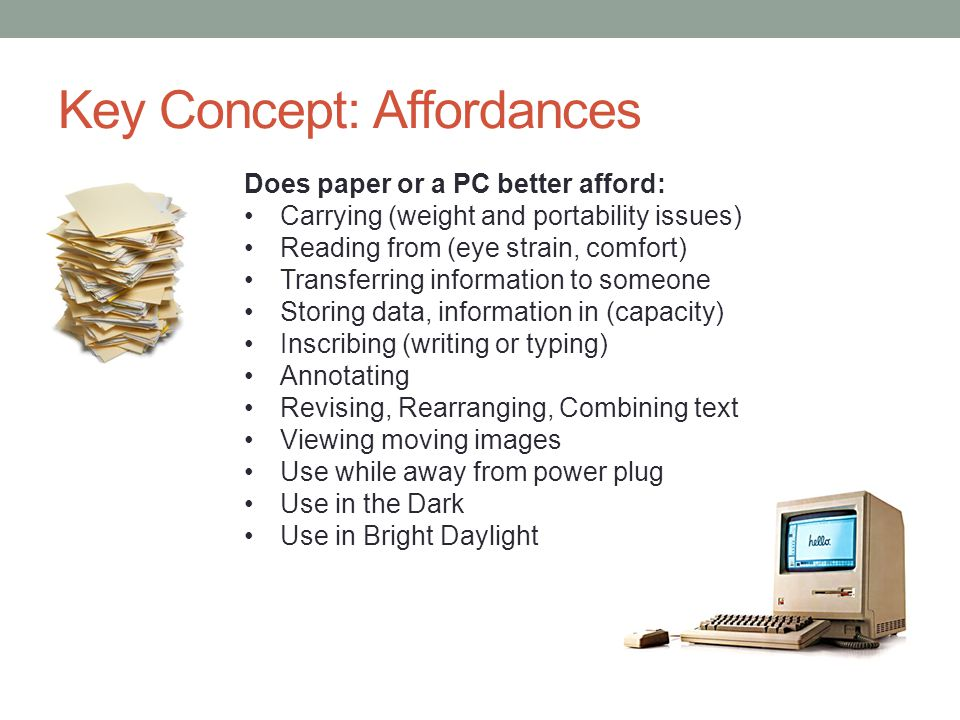 Toward Paperlessness? Desktop PC (standalone)