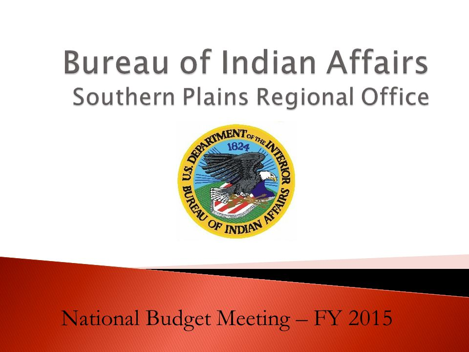 National Budget Meeting – FY 2015