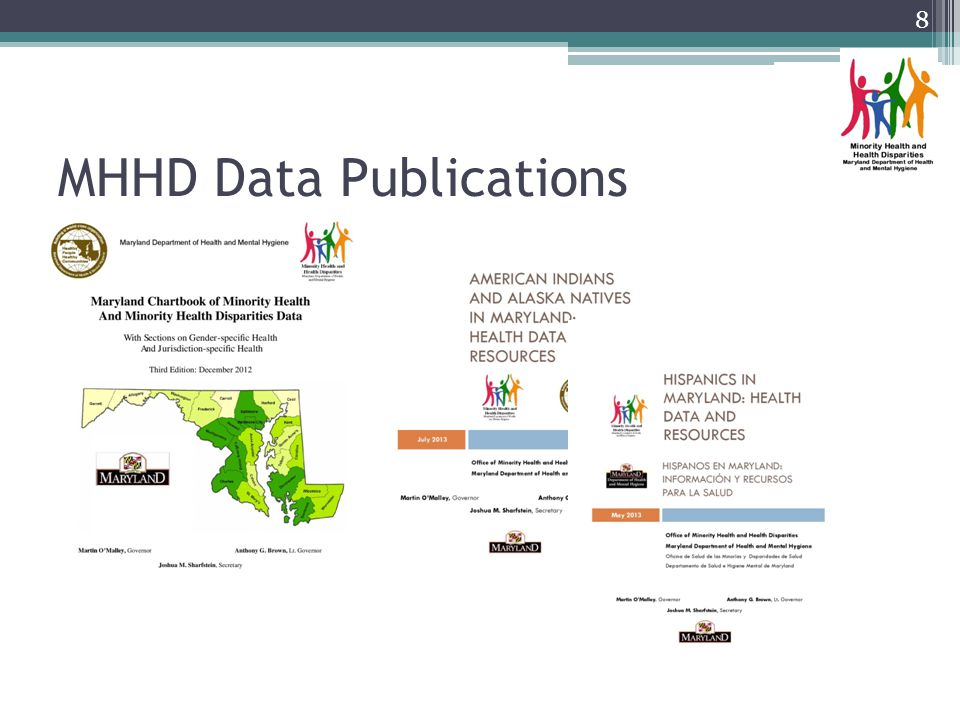 MHHD Data Publications 8