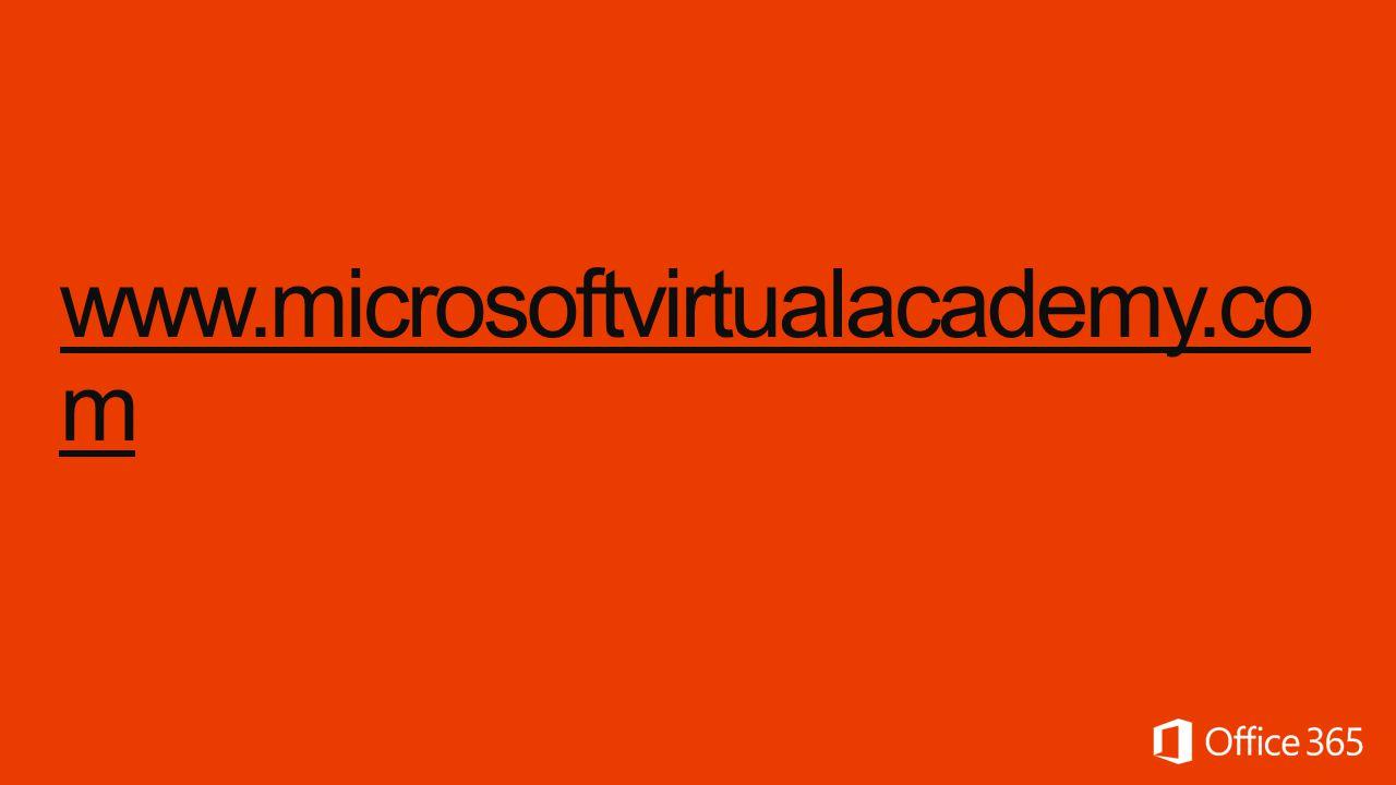 www.microsoftvirtualacademy.co m