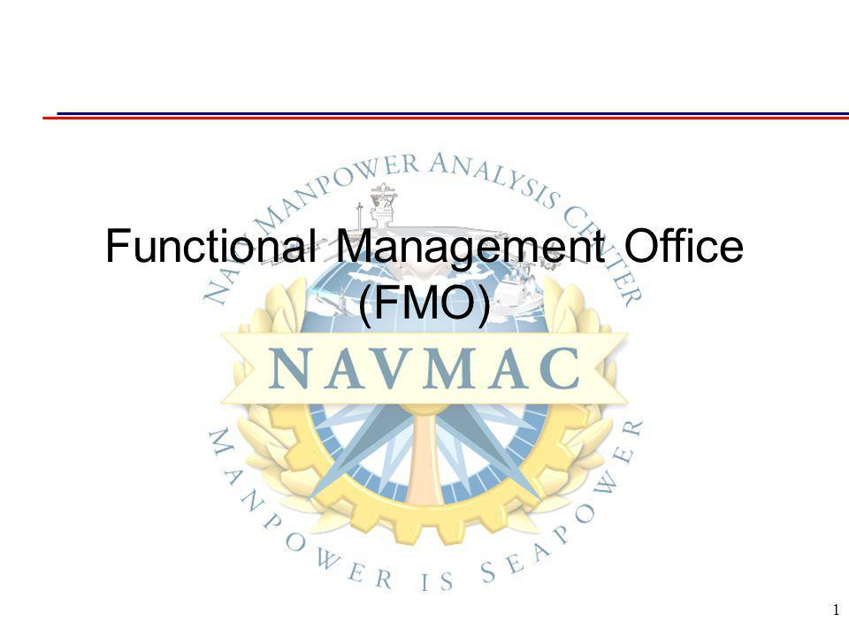 1 Functional Management Office (FMO)