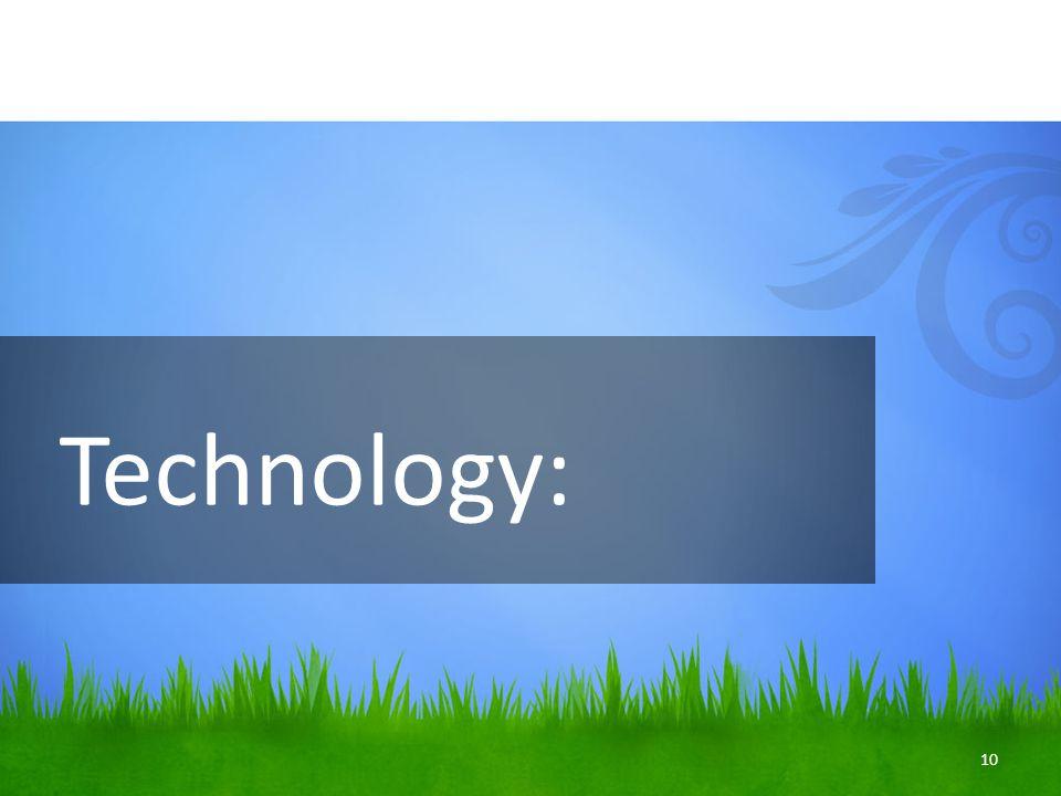 Technology: 10