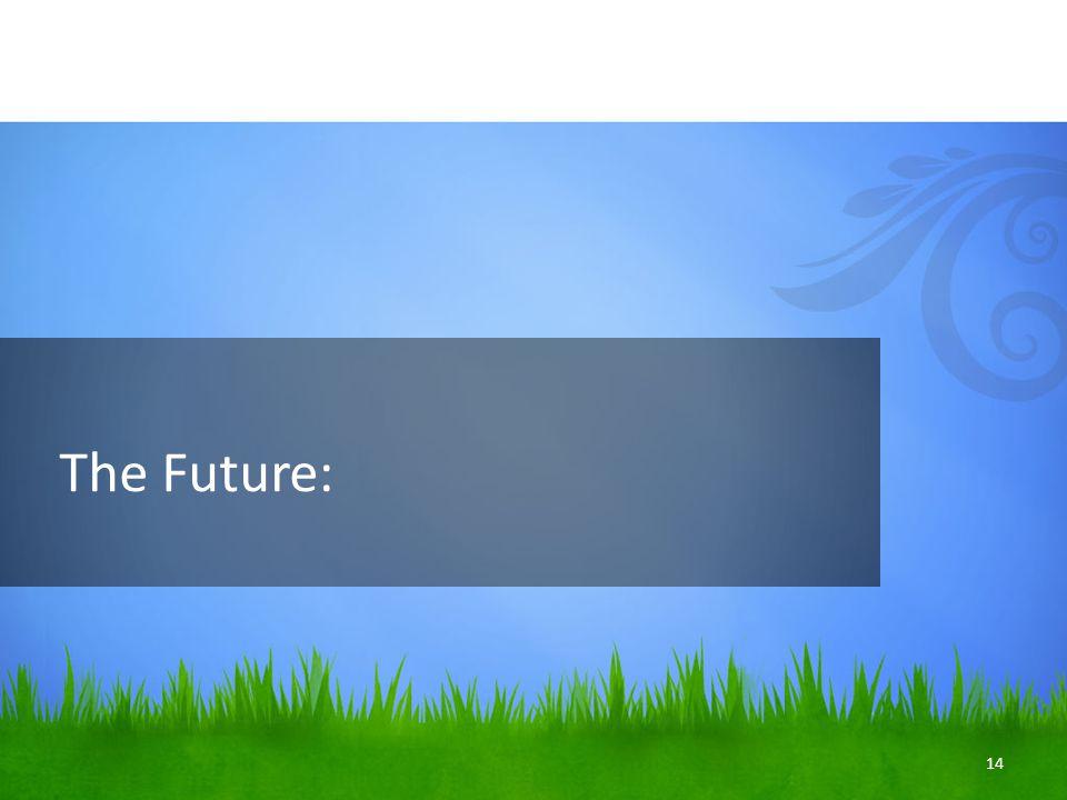 The Future: 14