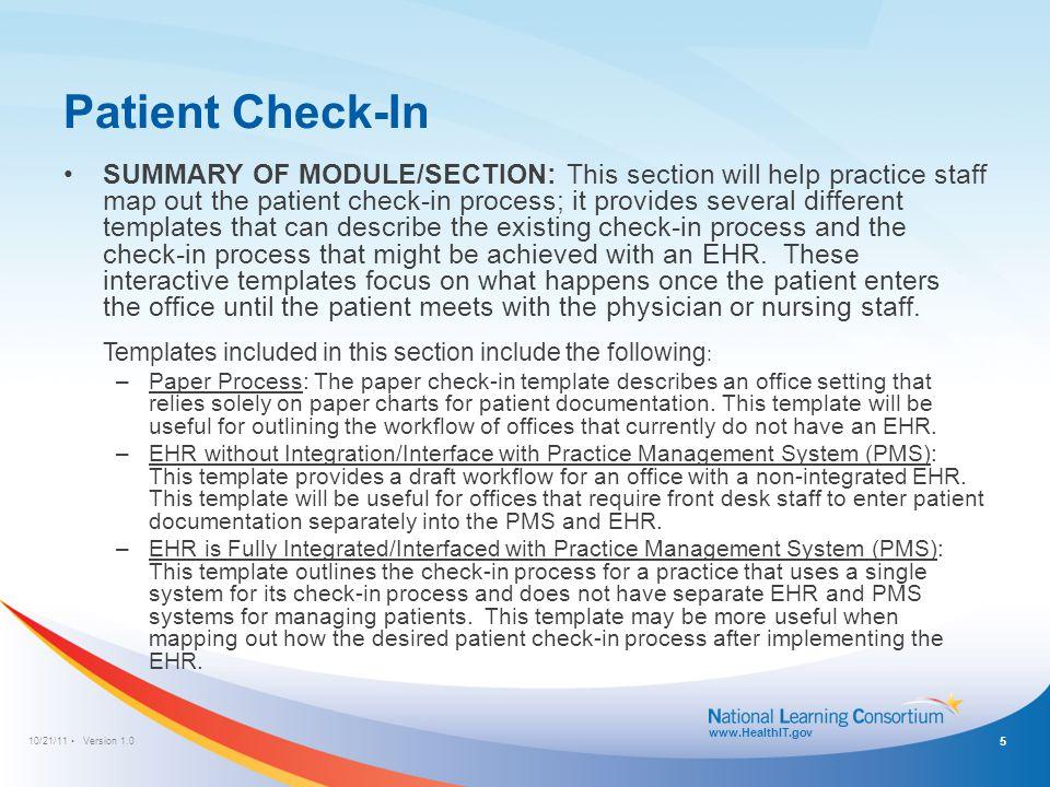 10/21/11 Version 1.0 www.HealthIT.gov e-Prescribing Workflow Template: Medication Refill Note: Double-click workflow diagram to make edits 16