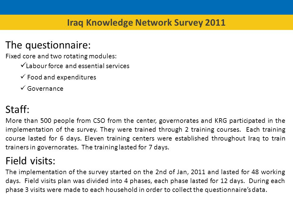 In Baghdad the prevalence of bribery reaches 29% in KR it is 4% and in the rest of Iraq it is 10%.