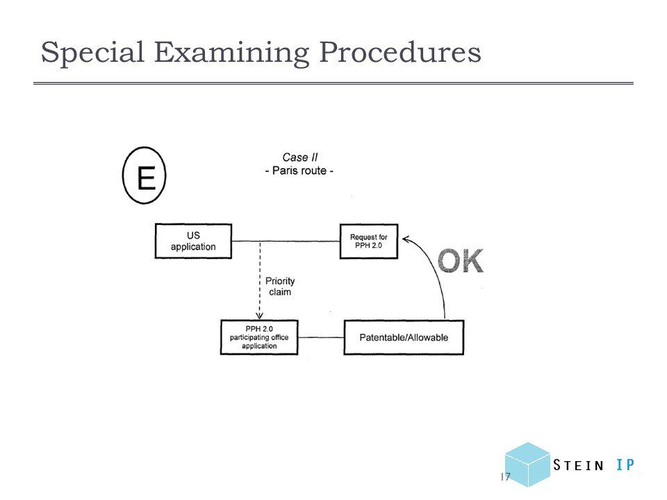Special Examining Procedures 17