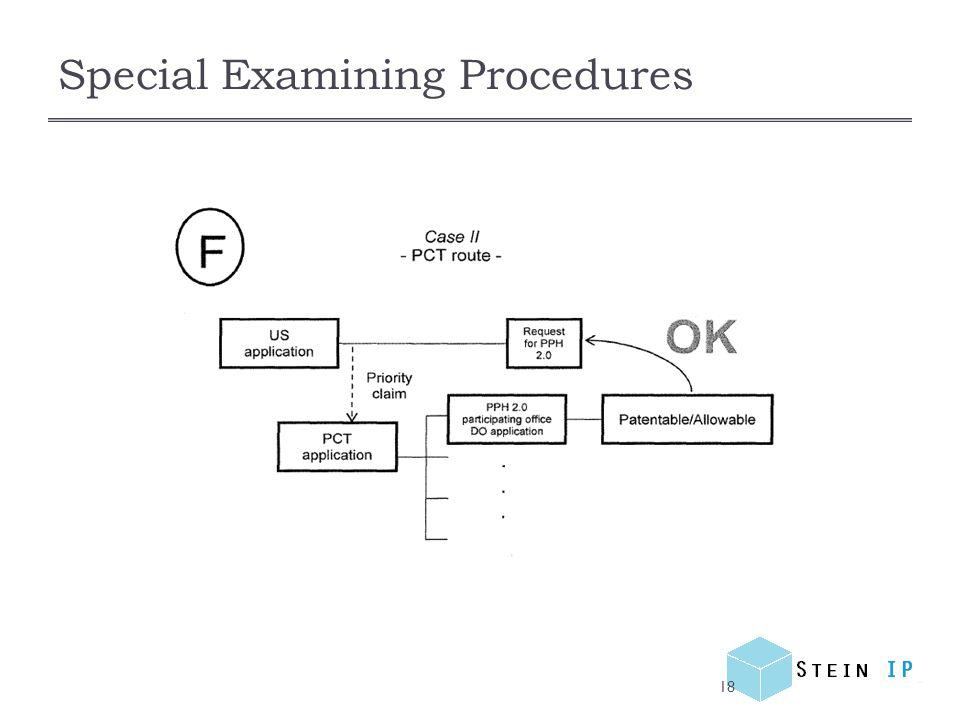 Special Examining Procedures 18