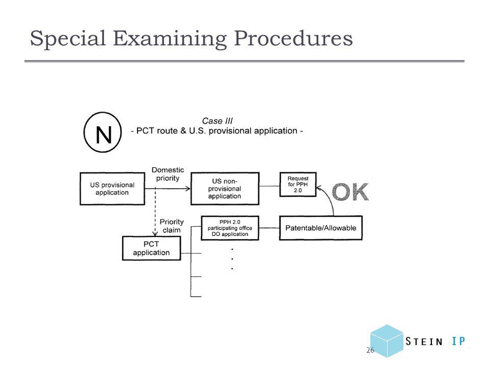 Special Examining Procedures 26