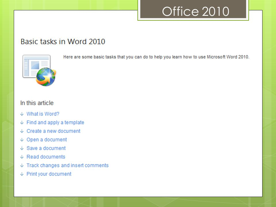 Office 2010 PICTURE CORRECTIONS You can now transform your images into compelling, vibrant visuals by fine-tuning the color intensity (saturation) and color tone (temperature) of a picture.