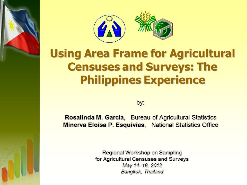Using Area Frame for Agricultural Censuses and Surveys: The Philippines Experience by: Rosalinda M.