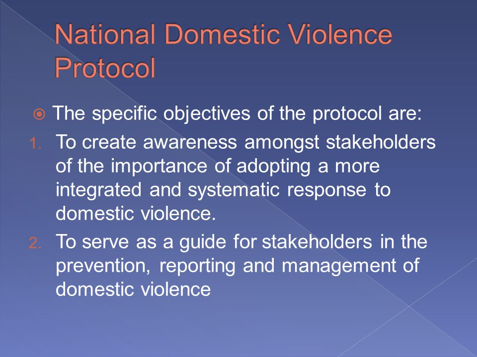 The specific objectives of the protocol are: 1.