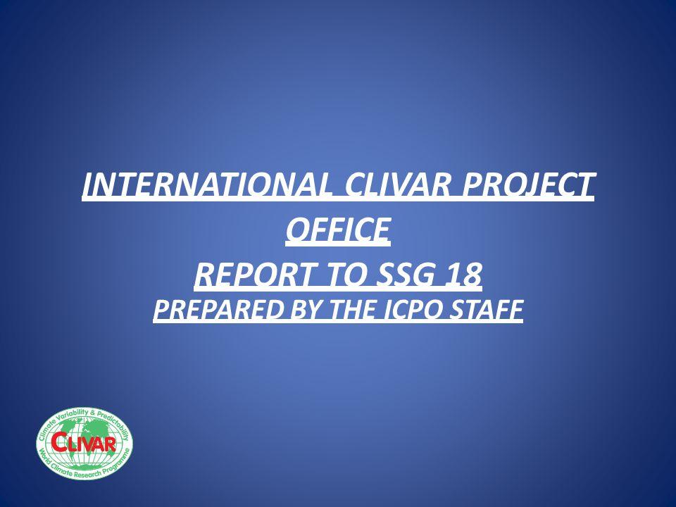 ICPO STAFF (*= change since SSG17) POSITION SSG17 SSG18 Director * Dr.