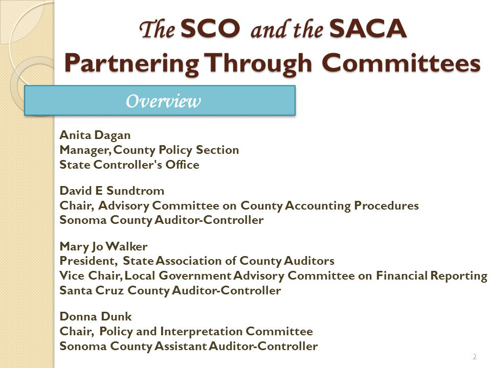 3 State Controllers Office Guidelines Accounting Standards and Procedures Manual for Counties County Budget Guide Uniform System of Accounts for Special Districts Government Code (GC) Sections 12463, 53891, 30200, 30201, and GC Sections 29000 – 29144 (County Budget Act ) First Issued 1961 First Issued 1986 First Issued 1964