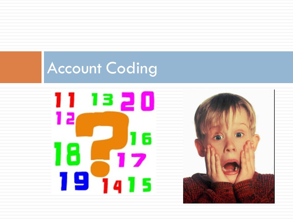 Account Coding