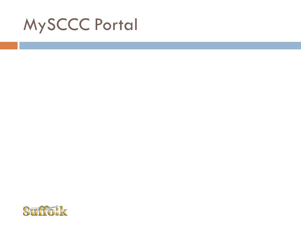 MySCCC Portal
