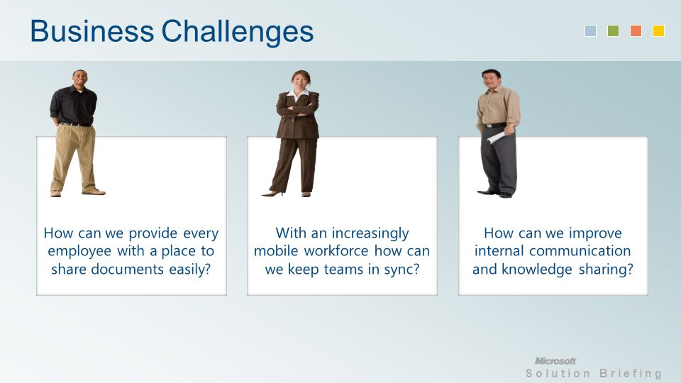 Solution Briefing Business Challenges
