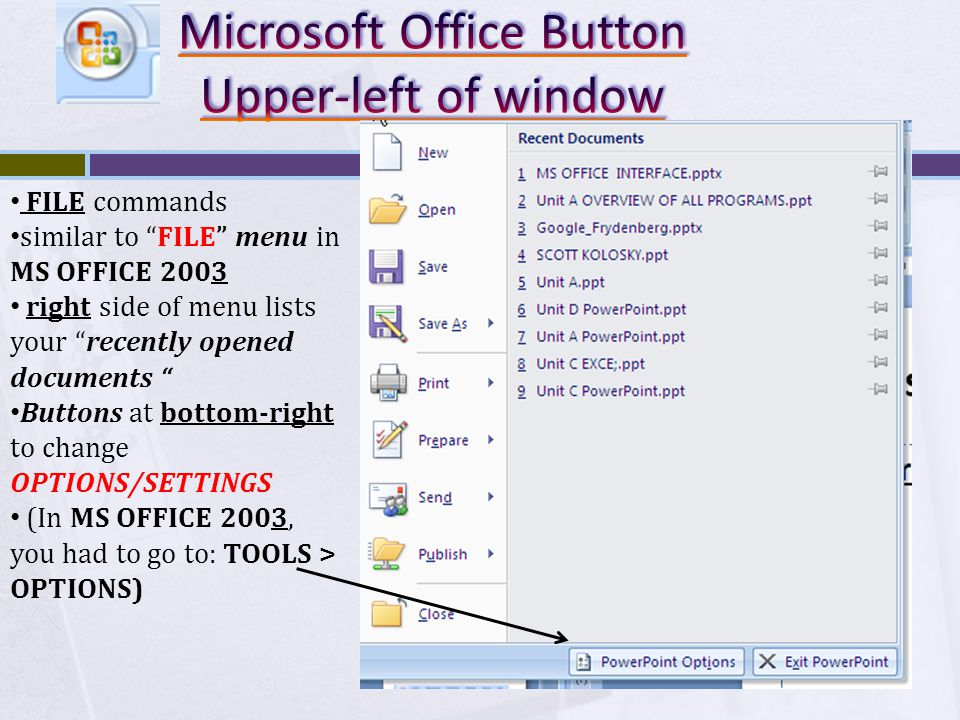 Allows you to instantly preview certain changes to a document before committing Makes selecting the perfect font, size, format, and design template a breeze Preview STYLE changes before applying them Available for most Galleries in Office 2007