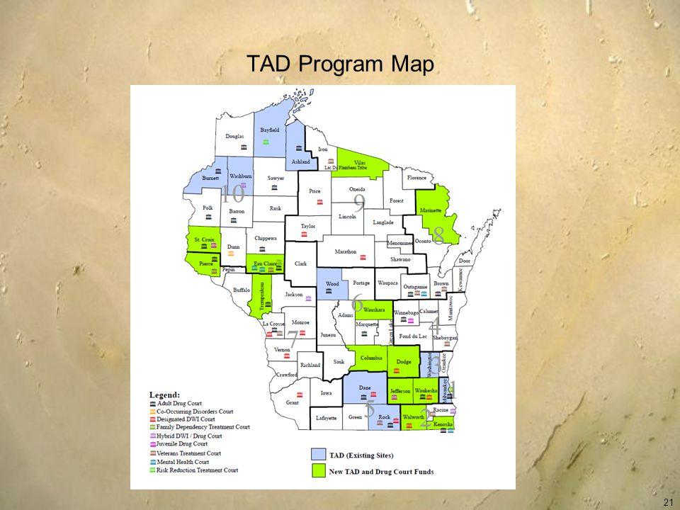 TAD Program Map 21