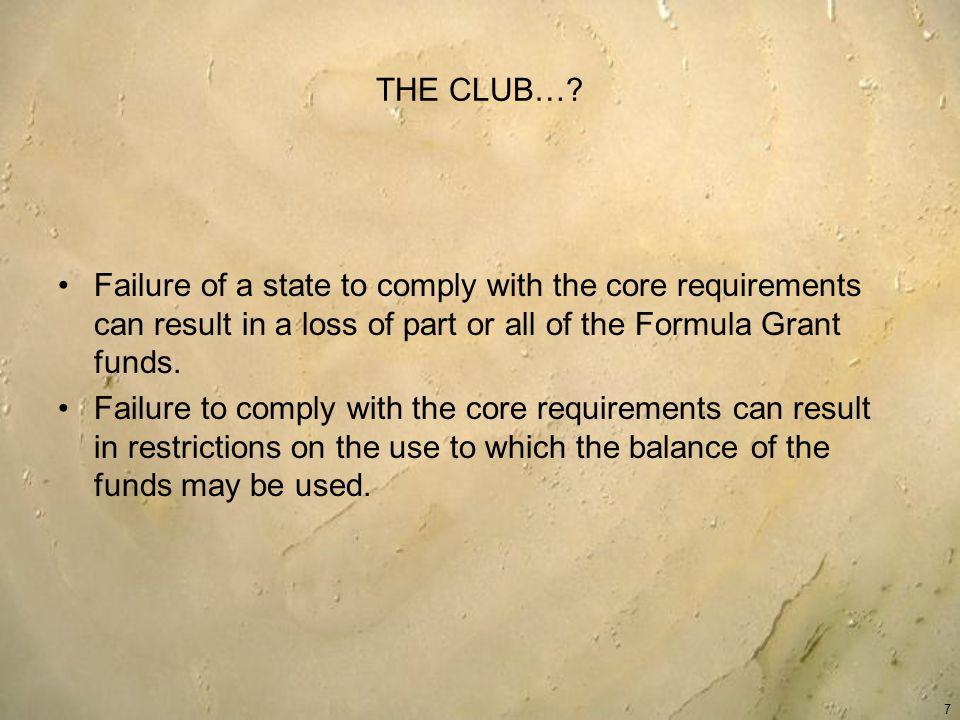 THE CLUB….