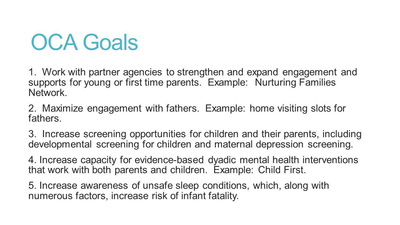 OCA Goals 1.