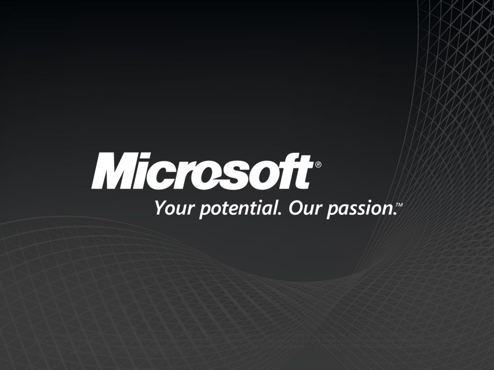 ©2009 Microsoft, Microsoft Dynamics, the Office logo, and Your potential. Our passion. are trademarks of the Microsoft group of companies. The informa
