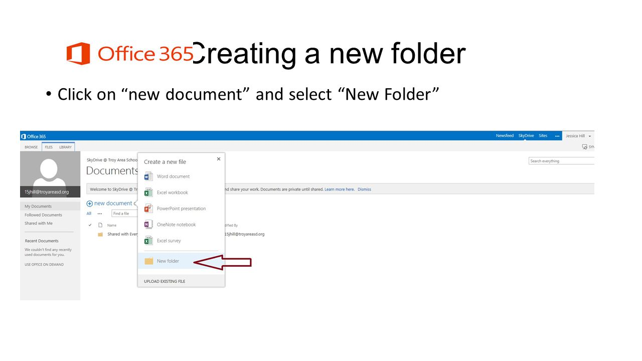 Naming a folder Name the folder and click Save to complete the task.