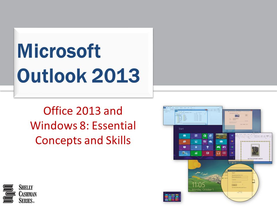 Office 2013 and Windows 8: Essential Concepts and Skills52 The PowerPoint Window and Ribbon