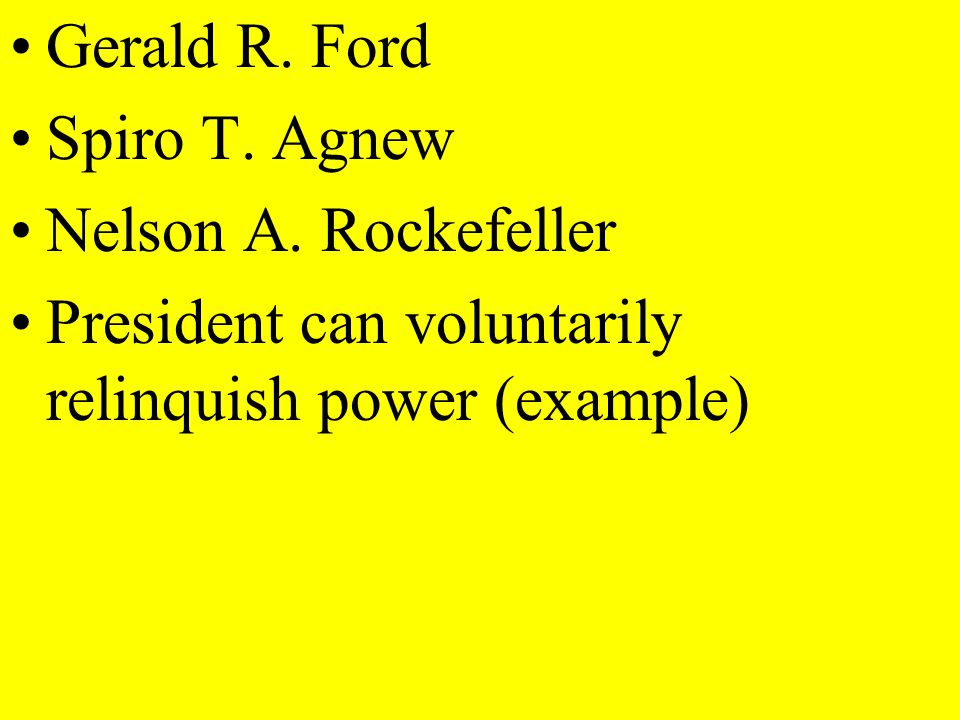 Limits on presidential powers Factors influencing a presidents use of his powers Which president historians rank as best because of leadership