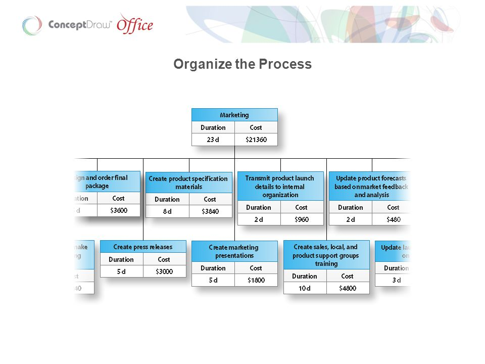 Organize the Process