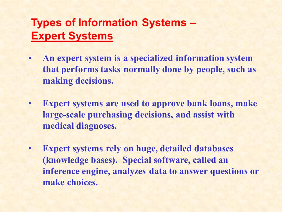 A management information system (MIS) is designed to provide information that is design for use by different types of managers. This type of system ca