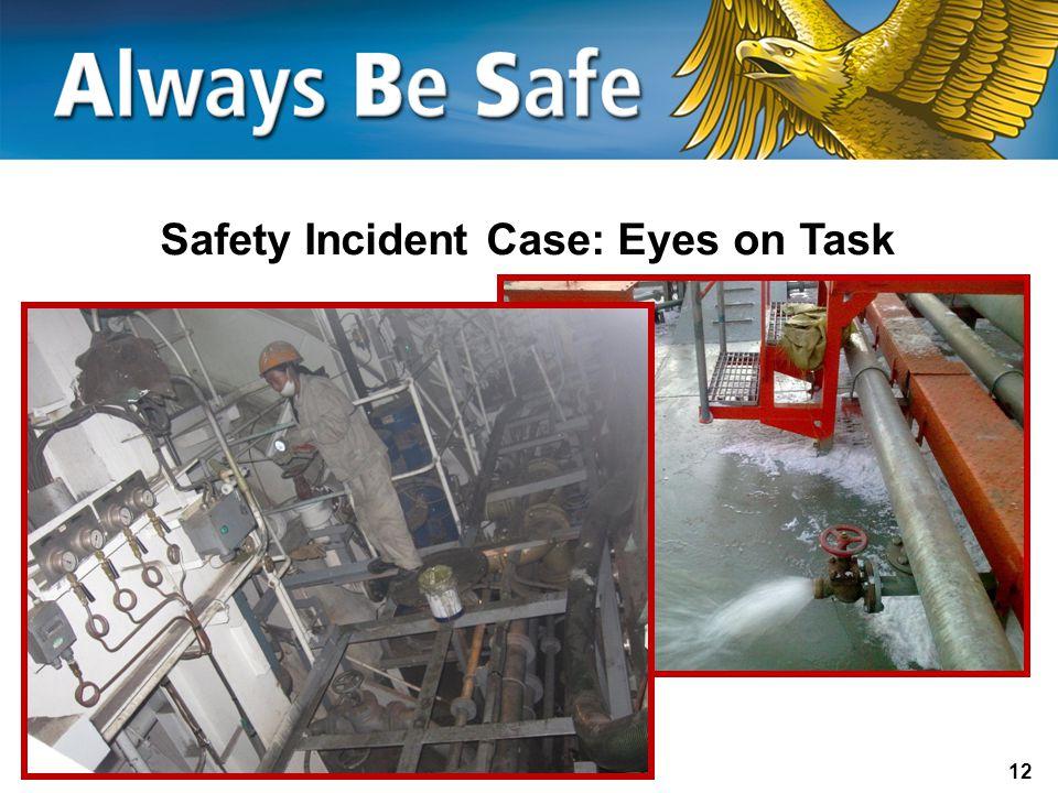 12 Safety Incident Case: Eyes on Task