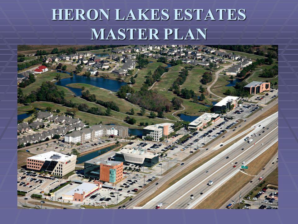 HERON LAKES ESTATES MASTER PLAN