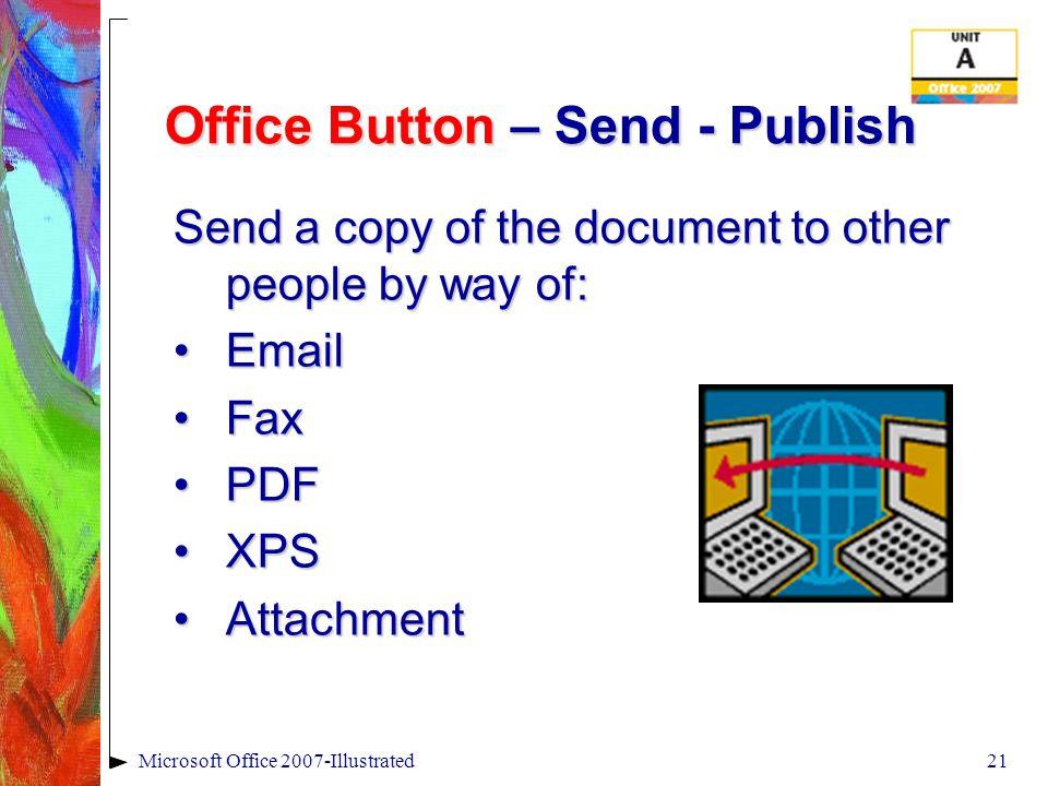 Office Button - Prepare PreparePrepare Propertiesmanage filesPropertiesmanage files Document InspectorDocument Inspector Compatibility CheckerCompatib