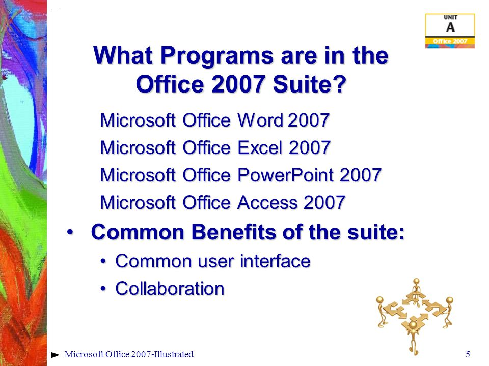 4 What is Microsoft Office 2007.