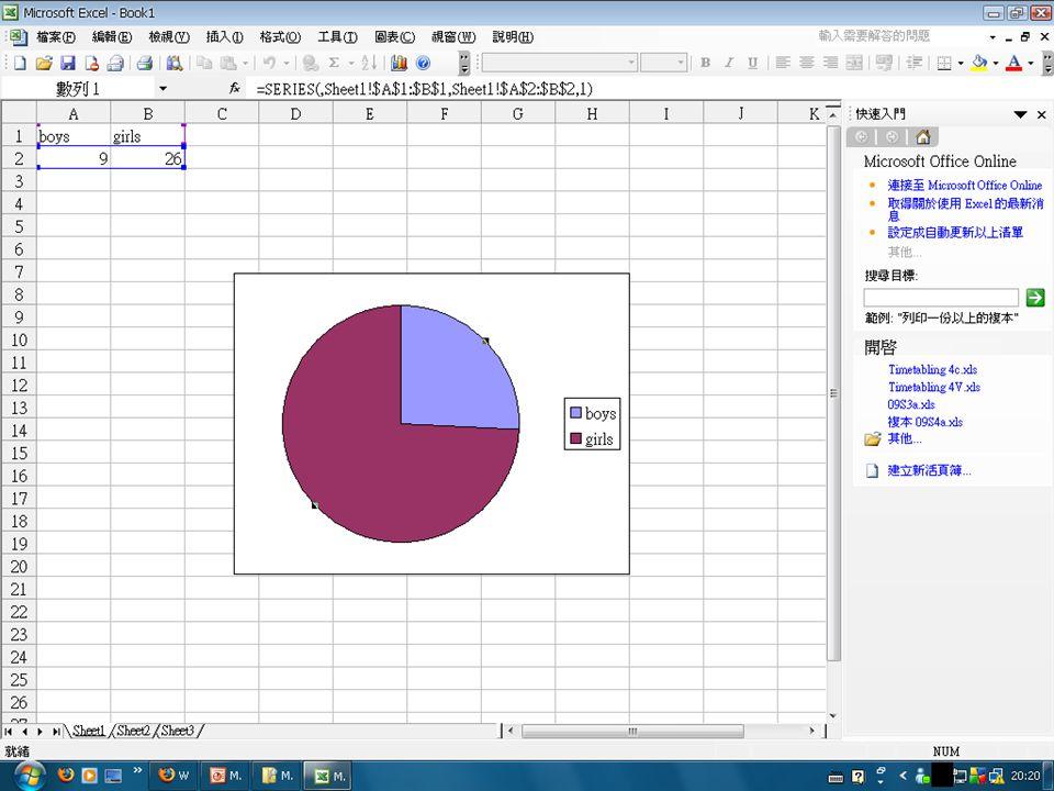 Spreadsheet –Microsoft Excel