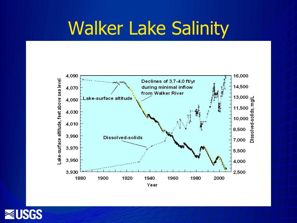 Walker Lake Salinity