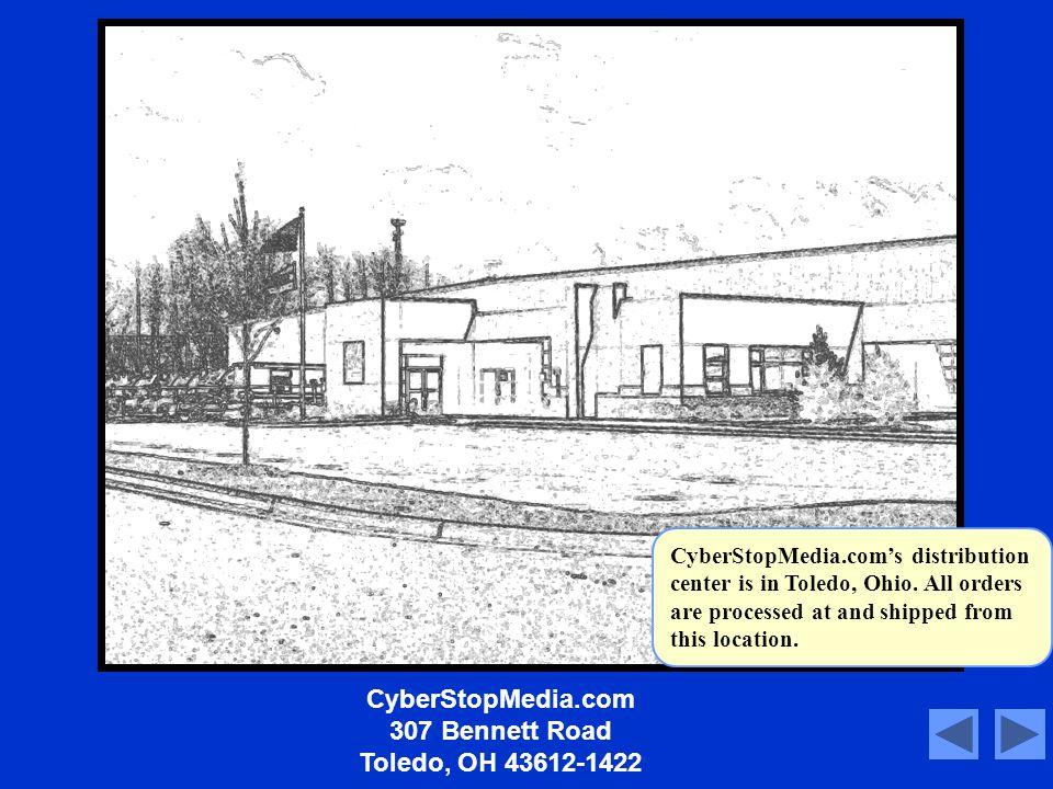 CyberStopMedia.com 307 Bennett Road Toledo, OH 43612-1422 Script