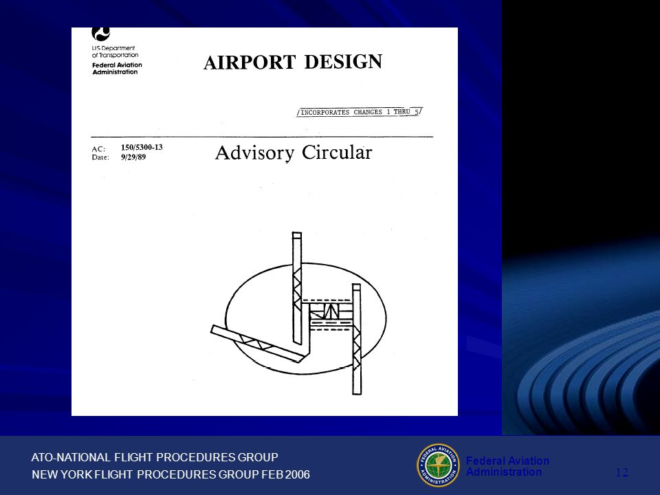 ATO-NATIONAL FLIGHT PROCEDURES GROUP NEW YORK FLIGHT PROCEDURES GROUP FEB 2006 Federal Aviation Administration 11